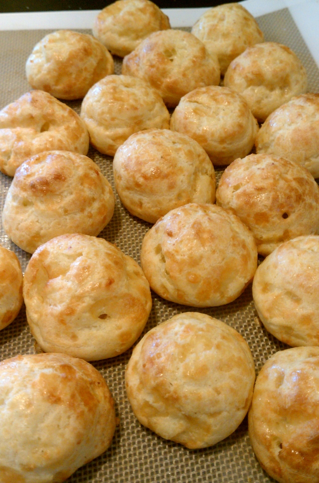 cheese puffs, gourges